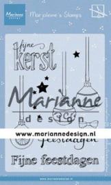 MZ1906  Clear Stamp Marjoleine's Kerstballen