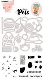 KJ-MBKJ-SCD04 Stamp & Cutting Die Missees By Karin Joan