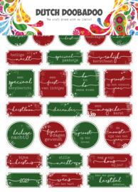 491.200.010  Sticker Art Kerst