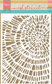 PS8040 Maskingstencil - Tiny's sliced wood