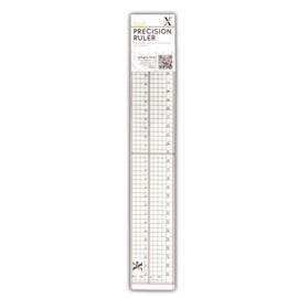 XCU 255301 Xcut 30cm Precision Ruler (Metal Edge Inlay