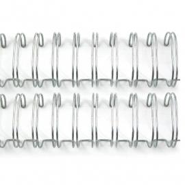 71009-7 Cinch Wires 2,5 cm Zilver