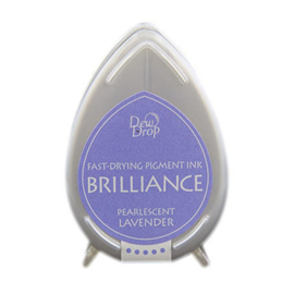 BD-000-037 Dew Drop Brillance Ink Pad Pearlscent Lavender