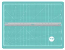 70938-1 Magnetische Snijmat met Liniaal