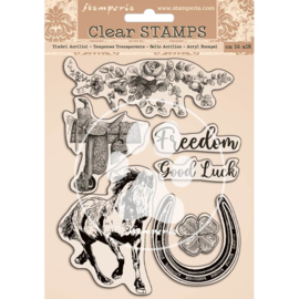 WTK156 Stamperia Romantic Horses Clear Stamps