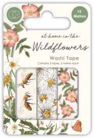 CCWTPE005 Craft Consortium At Home in the Wildflowers Washi Tape