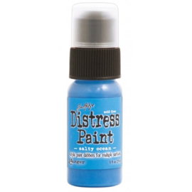 15TDD36449 Tim Holtz distress paint salty ocean