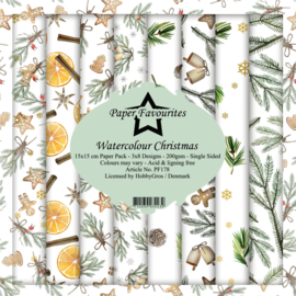 PF178 Paper Favourites 6x6 Inch Paper Pack Christmas
