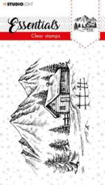 SL-ES-STAMP89 Studio Light Clear Stamp Christmas Essentials