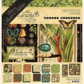 4502093 Graphic 45 Nature Notebook Deluxe Collector's Edition