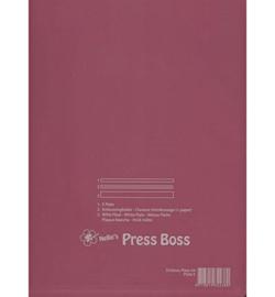 Plate-E - Embossing Mat pink for PressBoss