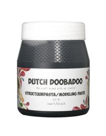 870.000.090 Dutch Doobadoo Structuurpasta zwart 250 ml