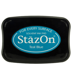 SZ-000-063 Stazon Ink Pad Teal Blue