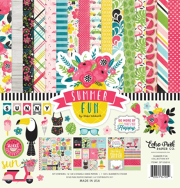 SF125016 Echo Park Summer Fun 12x12 Inch Collection Kit