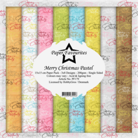 PF179 Paper Favourites 6x6 Inch Paper Pack Christmas