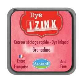 19254 Aladine Inkpad Izink Dye Rouge Grenadin