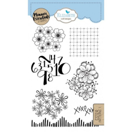 CS124 ECD Clearstamps Pattern 1