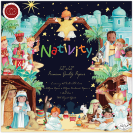 CCPPAD Craft Consortium Nativity 12x12 Inch Paper Pad