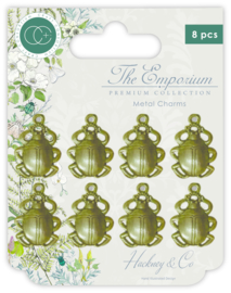 CCMCHRM009 Craft Consortium The Emporium Metal Charms Beetles