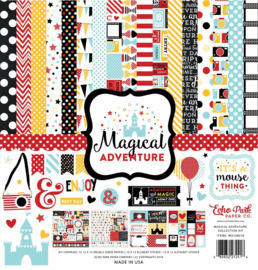 MA109016 Echo Park Magical Adventure 12x12 Inch Collection Kit