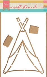 PS8021 Craft Stencil Tipi