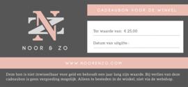 Noor! & Zo Cadeaubon t.w.v. 25,-