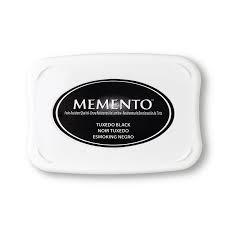 Memento Stempelinkt zwart