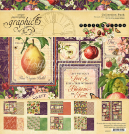 4502000 Graphic 45 Fruit & Flora Collection Pack