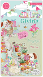 CCSTMP043 Craft Consortium The Gift of Giving Clear Stamps Pick of the Bunch