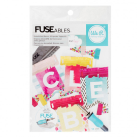 660868 We R Memory Keepers banner kit FUSEables Dear Lizzy x13