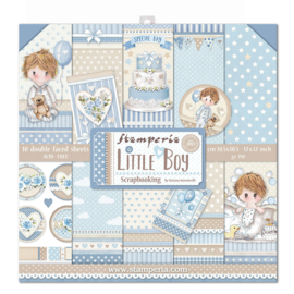 SBBL68 Stamperia Little Boy 12x12 Inch Paper Pack