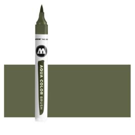 050 Molotow Aqua Color Brush  Olive