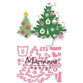 COL1459 Marianne Design Collectables Eline's kerstboom