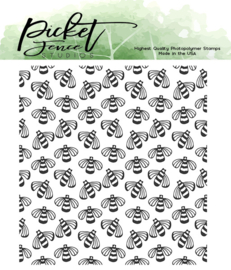A-143 Picket Fence Studios Buzz Clear Stamps