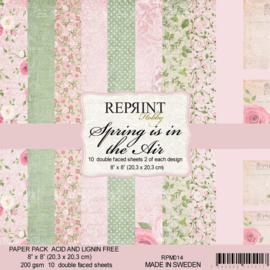 PM014 8x8 Inch Paper Pack Spring is in the Air