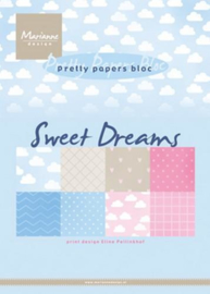 PB7055 Eline's paper bloc sweet dreams