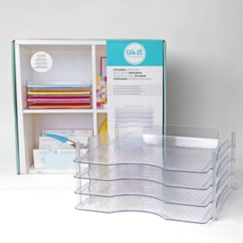 660476 We R Stackable paper trays 4pcs