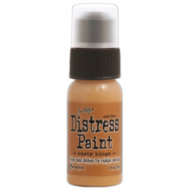 15TDD36432 Tim Holtz distress paint rusty hinge