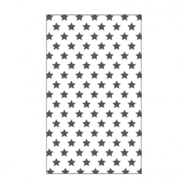 "100604-107 Vaessen Creative embossing folder 3x5"" stars"