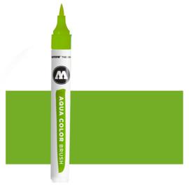 016 Molotow Aqua Color Brush  Yellow Green