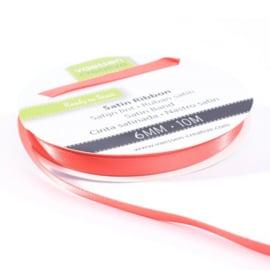 301002-1008 Vaessen Creative satijnlint dubbel 6mm - 10m watermeloen
