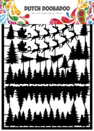 472.950.009 Laser Paper Art A5 Santa
