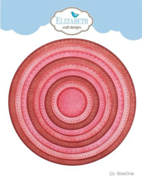 1116 Stitched Circles