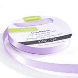 301002-2015 Vaessen Creative satijnlint dubbel 9mm - 10m lila