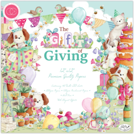 CCPPAD019 Craft Consortium The Gift of Giving 12x12 Inch Paper Pad
