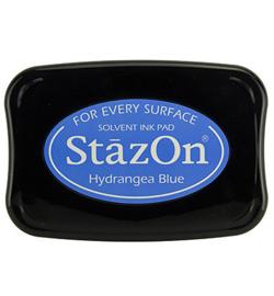 SZ-000-064 Stazon Ink Pad Hydrangea Blue