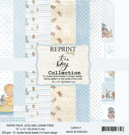 CRP017 Reprint 12x12 Inch Collection Pack  It´s a Boy