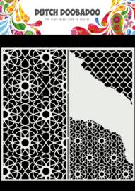 470.784.004 Mask Art Slimline Cracked Patterns