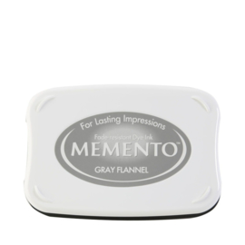 ME-000-902 Memento Ink Pad Gray Flannel