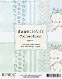RPP024 Reprint  Collection 6x6 Inch Paper Pack Sweet Baby